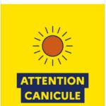 Alerte canicule: prenez soin de vous