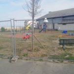 Fermeture de l'aire de jeux et d'une partie du parking du complexe André Malraux