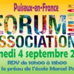 Forum des associations le 4 septembre 2021